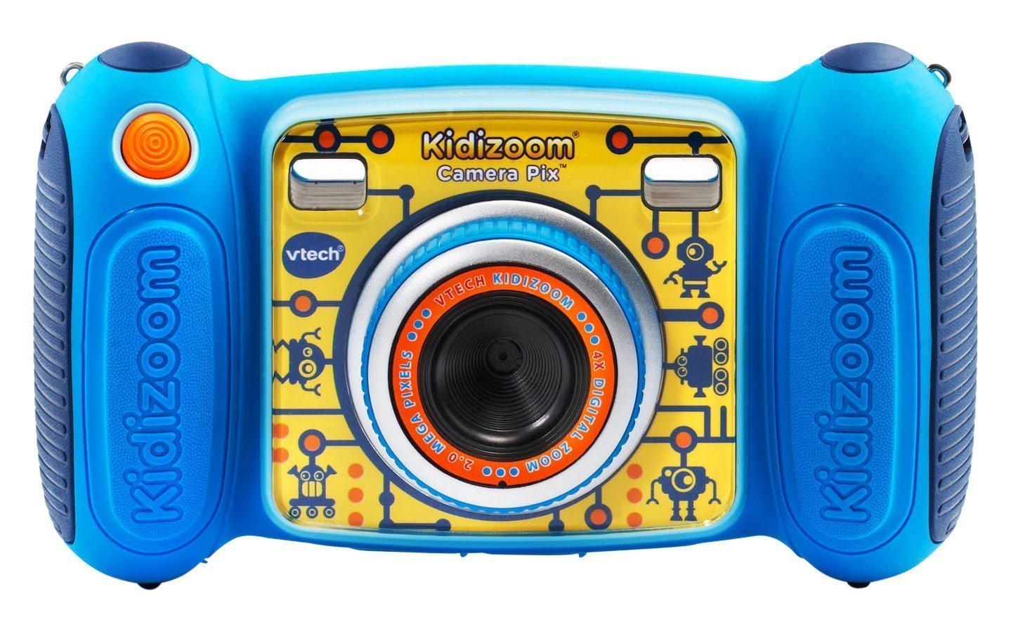 VTech Kidizoom Camera Pix, Blue ヴイテック キディーズーム カメラ 子供用トイカメラ [並行輸入品]