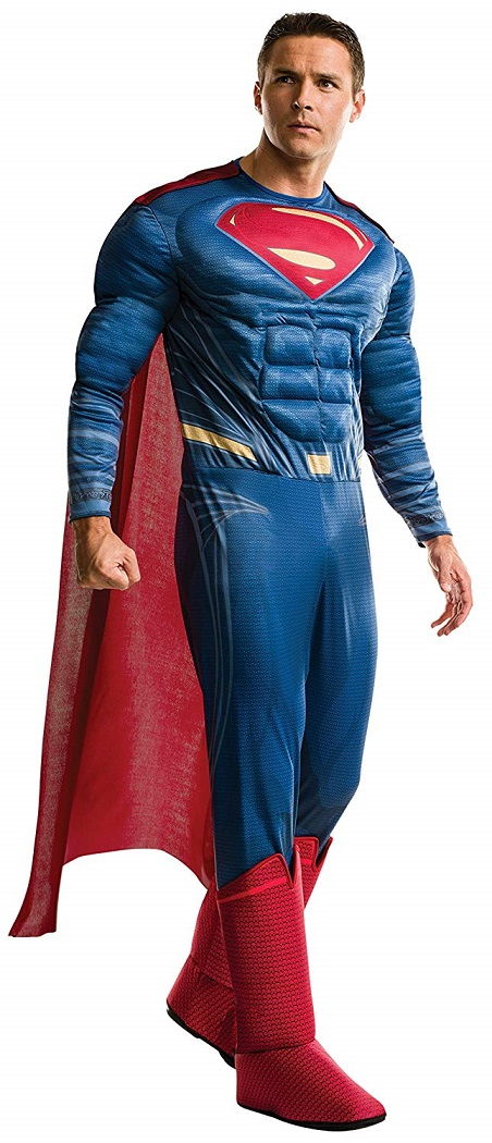 スーパーマン 胸筋モリモリ 衣装、コスチューム コスプレ 大人男性用  165cm-175cm