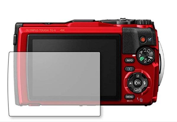 和湘堂社の人気商品 訳あり品送料無料 快適で安心安全利用に WASHODO Olympus TG-6 一眼カメラ用 毎週更新 液晶保護フィルム ガラス製