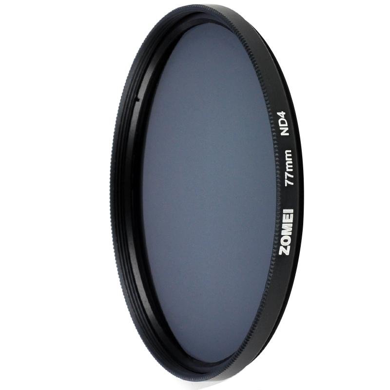 人気のデザイン 携帯便利なサイズで大好評中 セットアップ Zomei ドイツSCHOTTガラス使用 カメラ用フィルター 517-0027 52mm~77mm 光量調節用 ND4 減光フィルター 使い勝手の良い