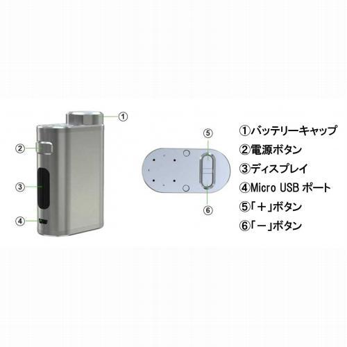 Eleaf iStick Pico 21700 100W Ello atomizer TC 4000mAh battery kit