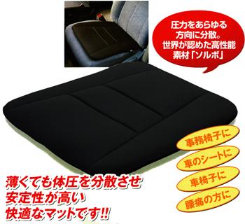 【送料無料】ソルボらく楽コンフォートマット+らく楽ランバーサポートセット