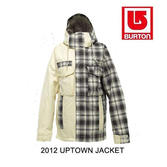 2012 BURTON バートン ジャケット WOMEN'S UPTOWN JACKET CANVAS BURNOUT PLAID CANVAS