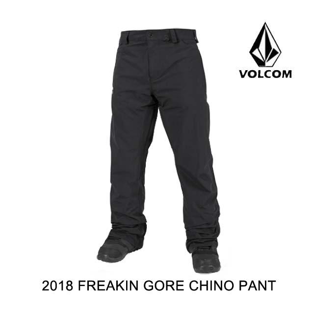 2018 VOLCOM ボルコム パンツ FREAKIN GORE CHINO PANT BLK