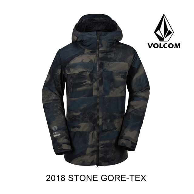 2018 VOLCOM ボルコム ジャケット STONE GORE-TEX JACKET CAM