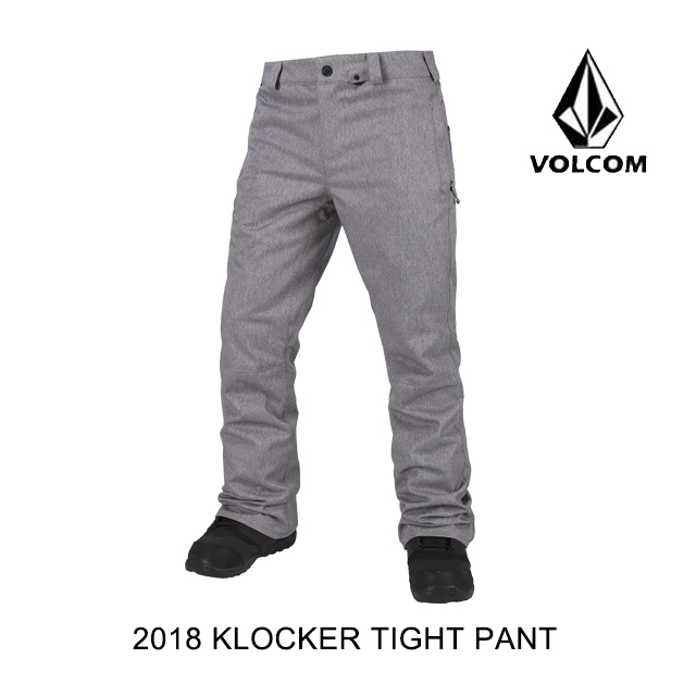 2018 VOLCOM ボルコム パンツ KLOCKER TIGHT SNOW PANT HGR