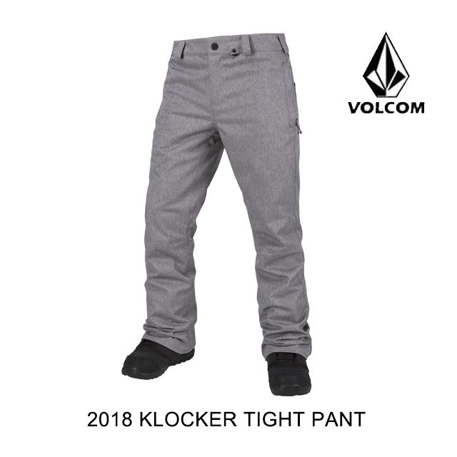 【日本産】 2018 VOLCOM VOLCOM ボルコム パンツ 2018 KLOCKER TIGHT SNOW ボルコム PANT HGR, ミュージックフォリビング:26994c31 --- hortafacil.dominiotemporario.com