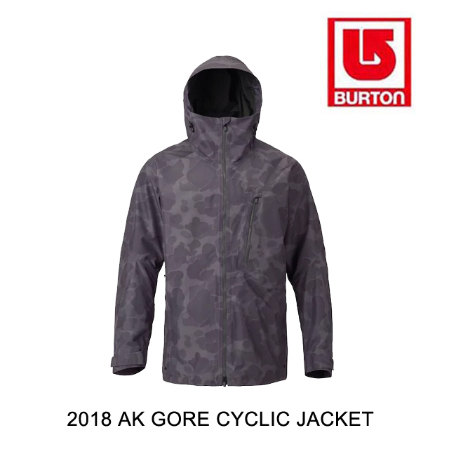 2018 BURTON バートン ジャケット AK GORE CYCLIC JACKET FADED KODIAK CAMO