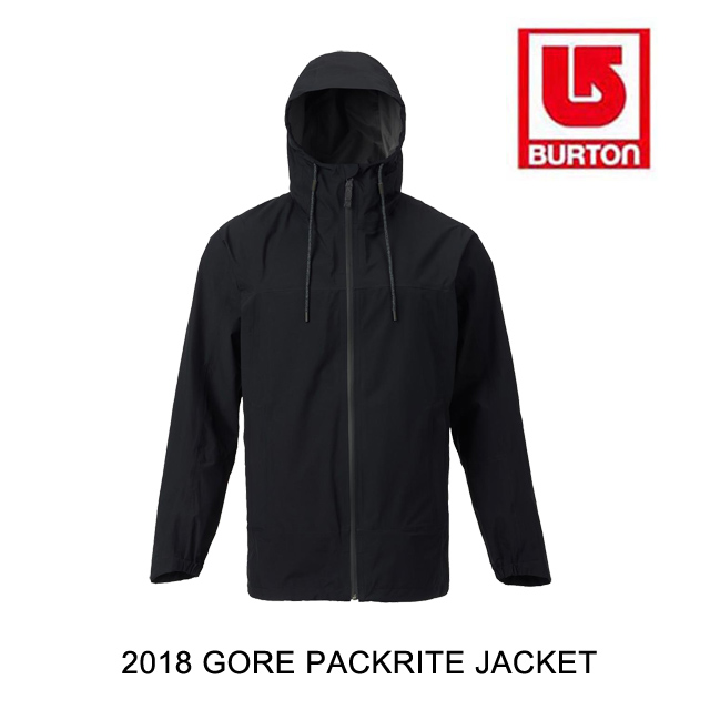 2018 BURTON バートン ジャケット GORE PACKRITE JACKET TRUE BLACK