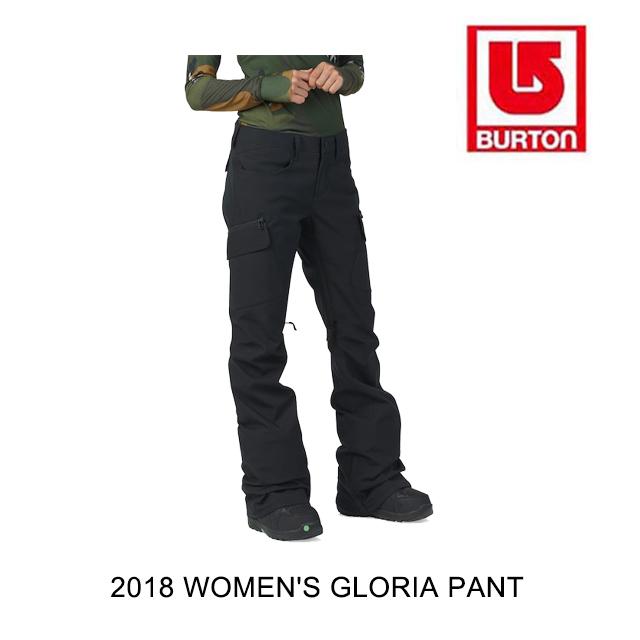 素晴らしい品質 2018 2018 BURTON バートン バートン パンツ WOMEN'S PANT GLORIA PANT TRUE BLACK, EZAKI NET GOLF:27ebdec0 --- clftranspo.dominiotemporario.com