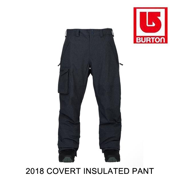 2018 BURTON バートン パンツ COVERT INSULATED PANT DENIM