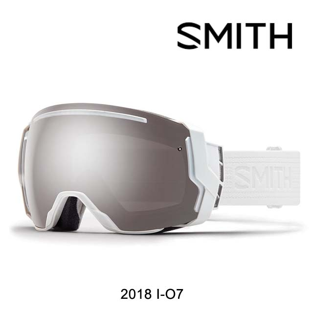 2018 SMITH スミス ゴーグル GOGGLE I/O7 WHITEOUT/CHROMAPOP SUN PLATINUM MIRROR+CHROMAPOP STORM ROSE FLASH