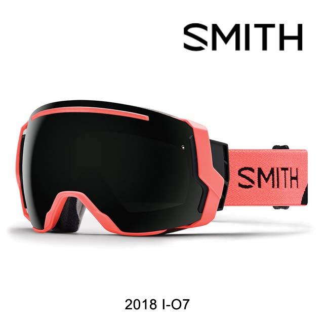 2018 SMITH スミス ゴーグル GOGGLE I/O7 SUNBURST SPLIT/CHROMAPOP SUN BLACK+CHROMAPOP STORM ROSE FLASH