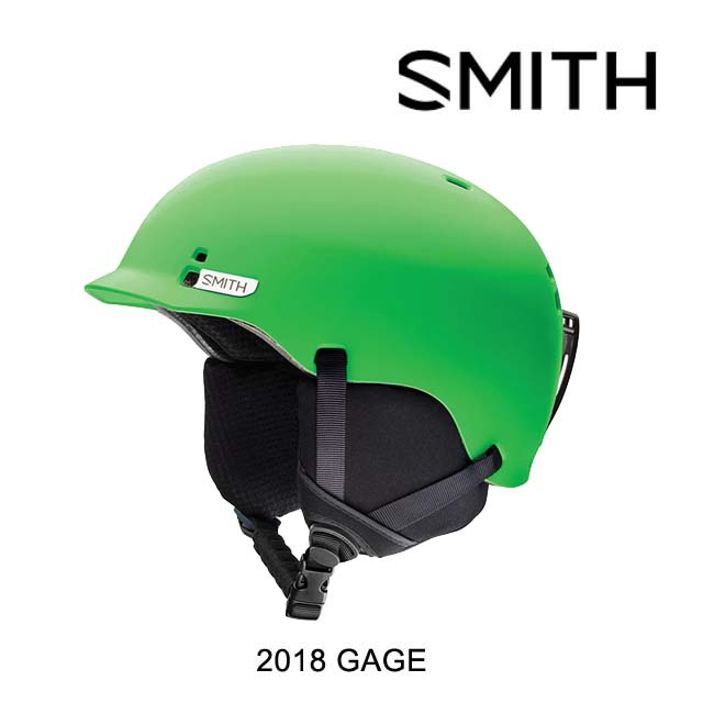 2018 SMITH スミス ヘルメット HELMET GAGE MATTE REACTOR