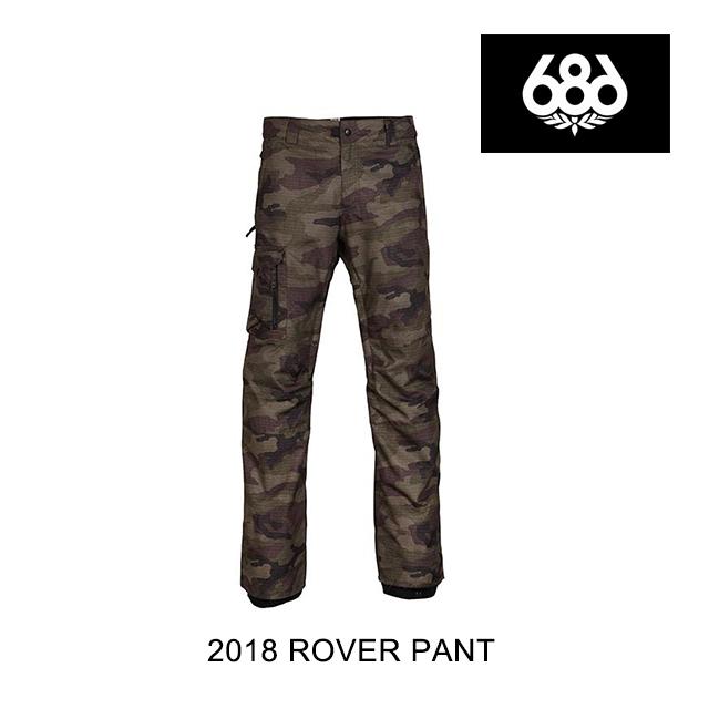 2018 686 シックスエイトシックス パンツ ROVER PANT FATIGUE CAMO PRINT