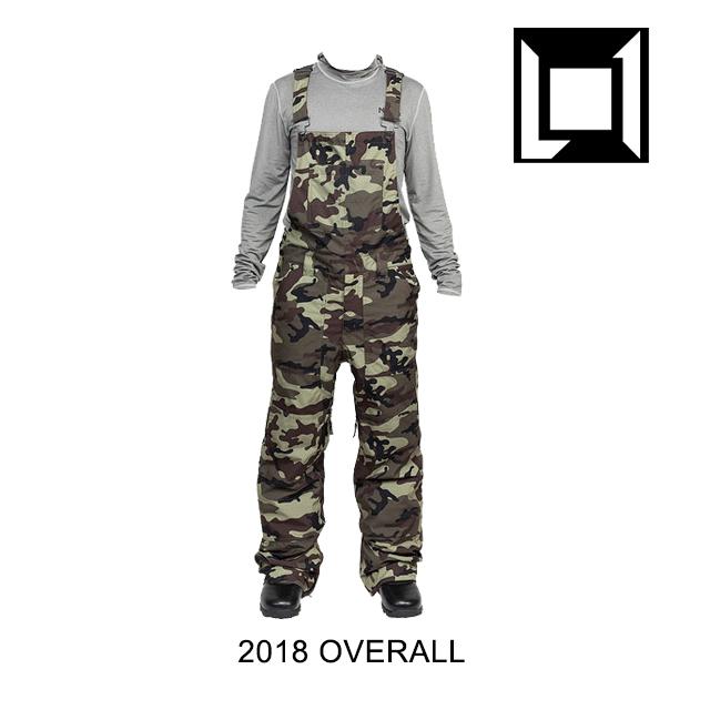 2018 L1 エルワン パンツ OVERALL PANT CAMO
