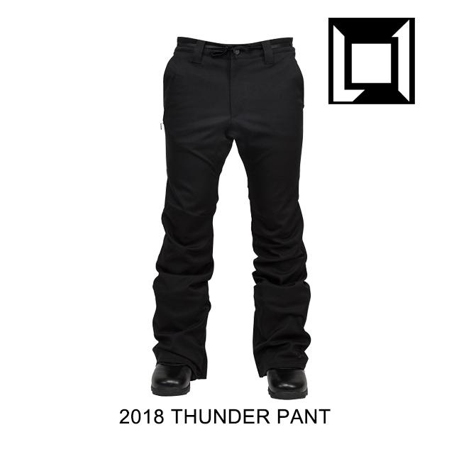 2018 L1 エルワン パンツ THUNDER PANT BLACK