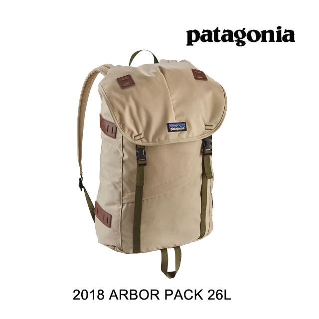 2018 PATAGONIA パタゴニア バックパック ARBOR PACK 26L ELKH EL CAP KHAKI