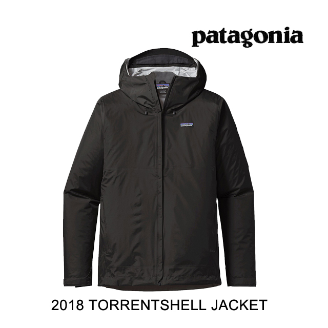 2018 PATAGONIA パタゴニア ジャケット TORRENTSHELL JACKET BLK BLACK