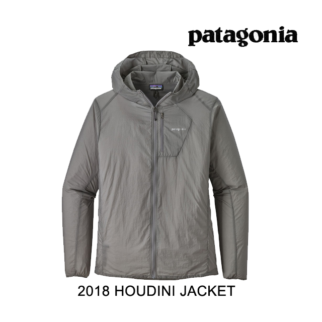 2018 PATAGONIA パタゴニア ジャケット HOUDINI JACKET FEA FEATHER GREY