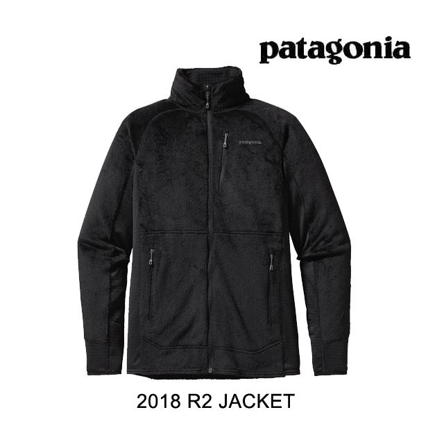 2018 PATAGONIA パタゴニア ジャケット R2 JACKET BLK BLACK