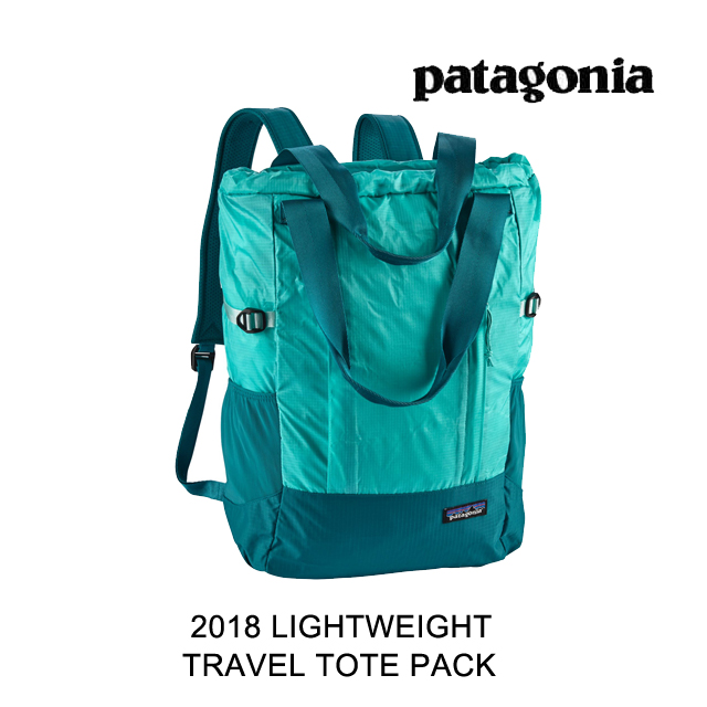 2018 PATAGONIA パタゴニア トートバッグ LIGHTWEIGHT TRAVEL TOTE PACK 22L STRB STRAIT BLUE