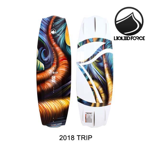 2018 LIQUID FORCE リキッドフォース ウェイクボード WAKEBOARD TRIP 134