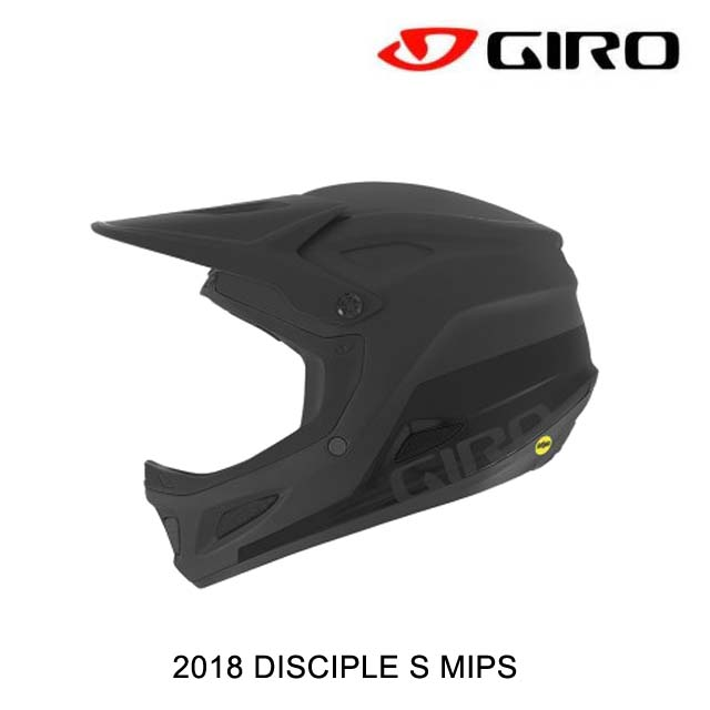 2018 GIRO ジロ ヘルメット HELMET DISCIPLE S MIPS MATTE BLACK
