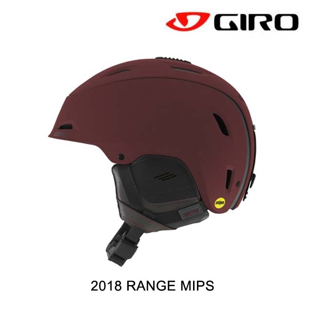 2018 GIRO ジロ ヘルメット HELMET RANGE MIPS MATTE MAROON MOUNTAIN DIVISION