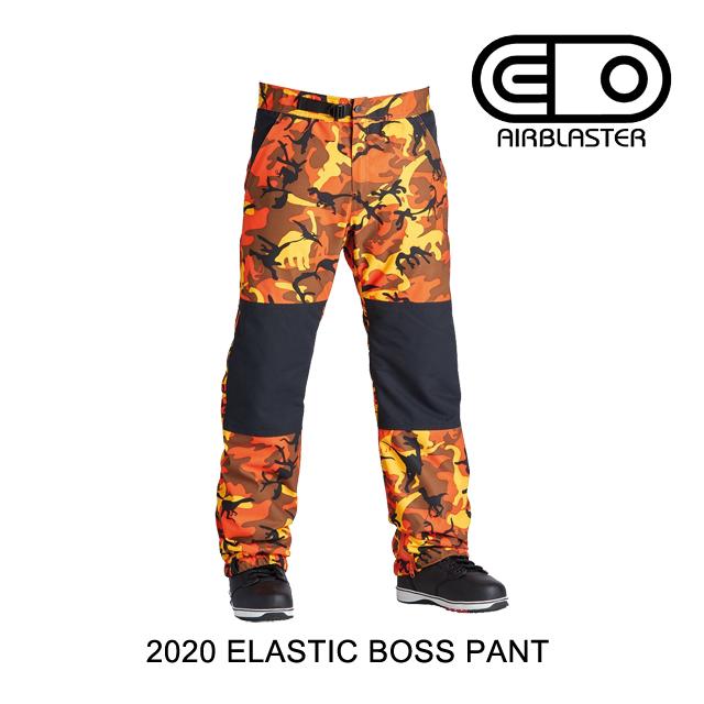 2020 AIRBLASTER エアブラスター エラスティック ボス パンツ ELASTIC BOSS PANT SAVAGE DINOFLAGE メンズ スノーボード ウエア