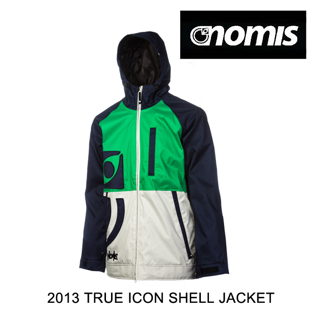 2013 NOMIS ノーミス ジャケット TRUE ICON SHELL JACKET DARKEST BLUE