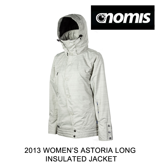 高級品市場 2013 NOMIS LONG JACKET ノーミス ジャケット WOMEN'S ASTORIA ASTORIA LONG INSULATED JACKET SMOKE, DONNA:f86c2ec5 --- smaphoneapp.xyz