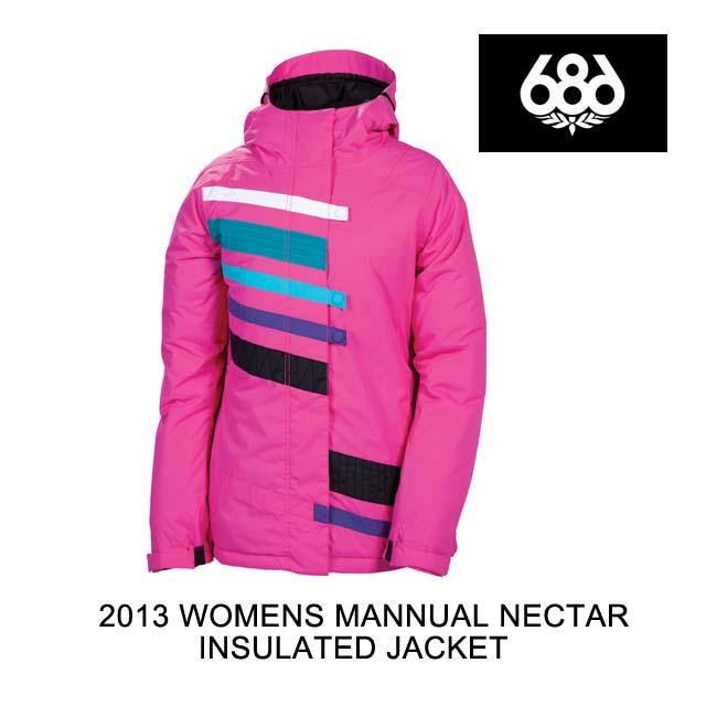 2013 686 シックスエイトシックス ジャケット WOMEN'S MANNUAL NECTAR INSULATED JACKET MAJENTA