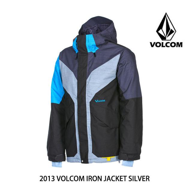 2013 VOLCOM ボルコム ジャケット IRON JACKET SIL