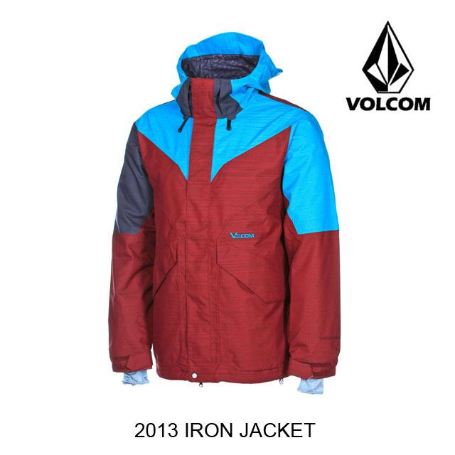 2013 VOLCOM ボルコム ジャケット IRON JACKET MAR