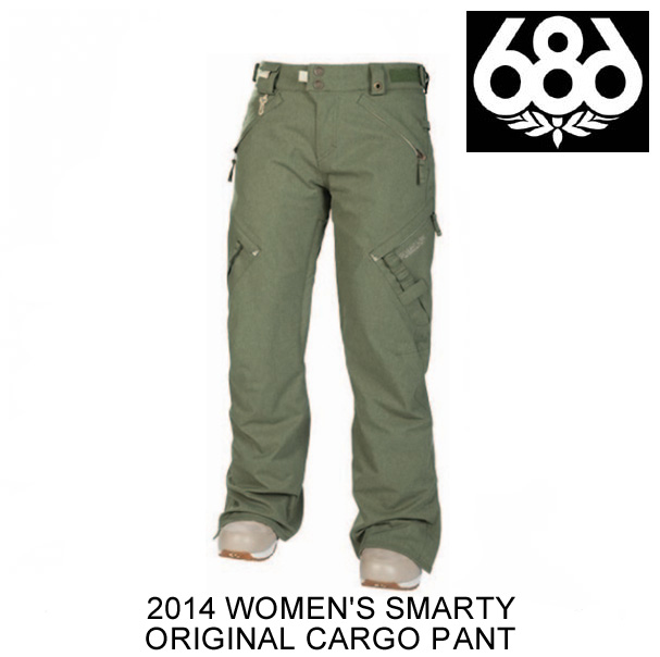 2014 686 シックスエイトシックス パンツ WOMEN'S SMARTY ORIGINAL CARGO PANT ARMY TEXTURE