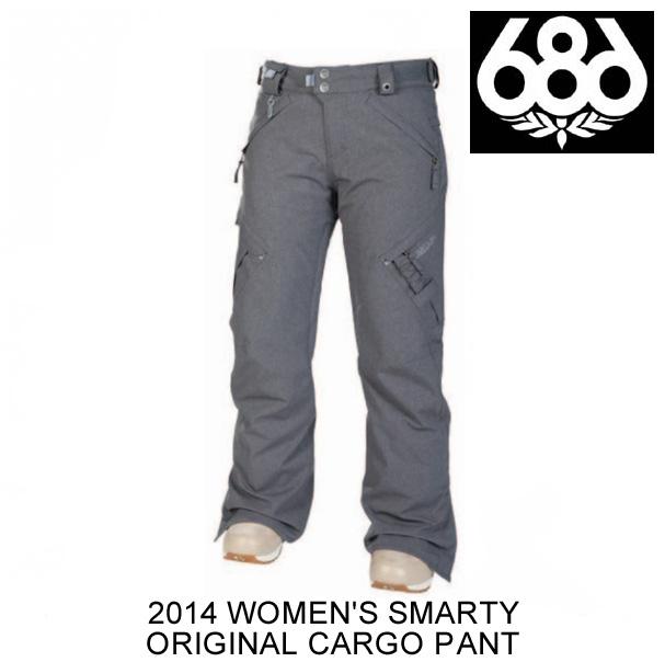 2014 686 シックスエイトシックス パンツ WOMEN'S SMARTY ORIGINAL CARGO PANT GUNMETAL TEXTURE