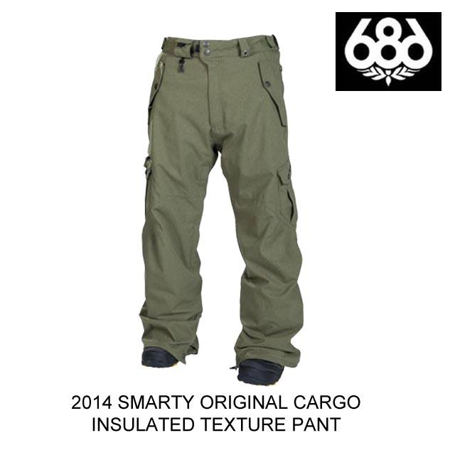 2014 686 シックスエイトシックス パンツ SMARTY ORIGINAL CARGO PANT ARMY TEXTURE