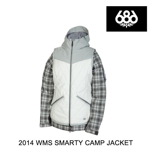 2014 686 シックスエイトシックス ジャケット WOMEN'S SMARTY CAMP JACKET GUNMETAL