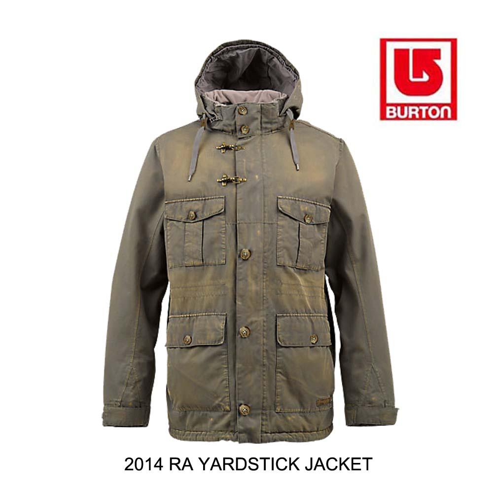 2014 BURTON バートン ジャケット RESTRICTED YARDSTICK JACKET WASHED CANTEEN