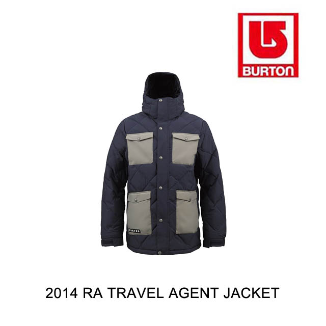 2014 BURTON バートン ジャケット RESTRICTED TRAVEL AGENT JACKET BALLPOINT/MONOXIDE