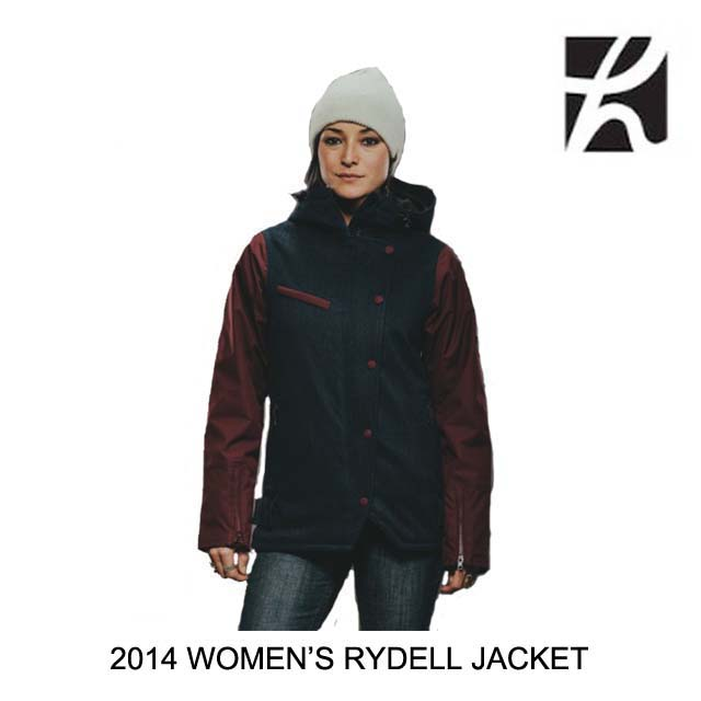 2014 HOLDEN ホールデン ジャケット WOMEN'S RYDELL JACKET PEACOAT/PORT ROYALE