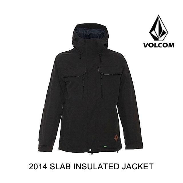 2014 VOLCOM ボルコム ジャケット SLAB INSULATED JACKET BLK