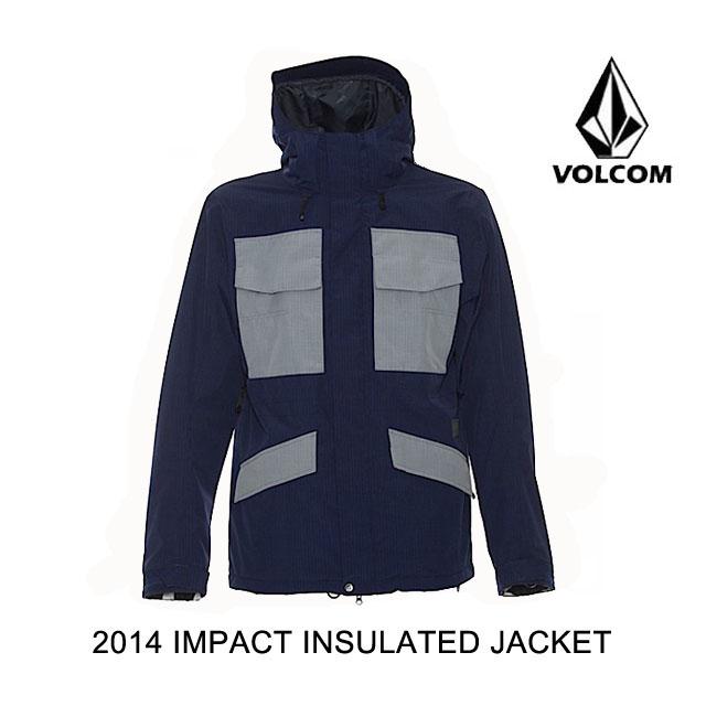 2014 VOLCOM ボルコム ジャケット IMPACT INSULATED JACKET NVY