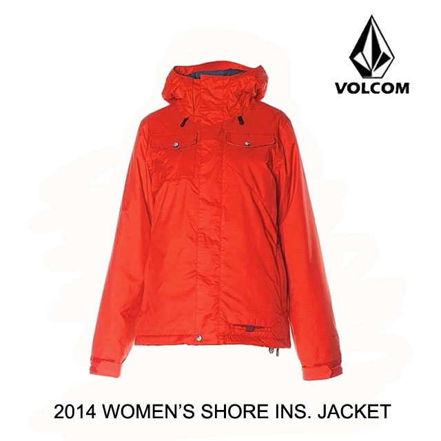 2014 VOLCOM ボルコム ジャケット WOMEN'S SHORE INSULATED JACKET SCR