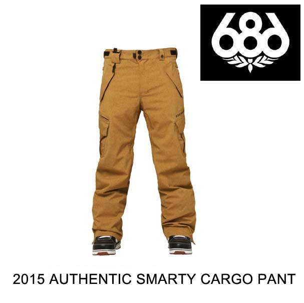 2015 686 シックスエイトシックス パンツ AUTHENTIC SMARTY CARGO PANT DUCK TEXTURE