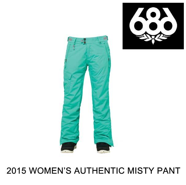2015 686 シックスエイトシックス パンツ WOMEN'S AUTHENTIC MISTY PANT SEAFOAM