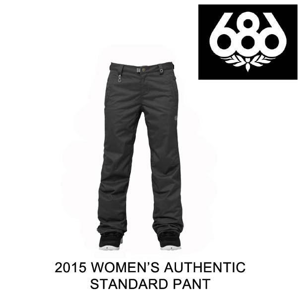 2015 686 シックスエイトシックス パンツ WOMEN'S AUTHENTIC STANDARD PANT GUNMETAL