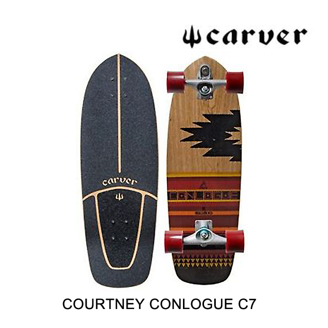 CARVER カーバー スケートボード SKATEBOARD COURTNEY CONLOGUE C7 COMPLETE MULTI 29.5