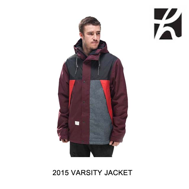 2015 HOLDEN ホールデン ジャケット VARSITY JACKET PORT ROYALE MULTI